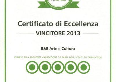 Vincitore-2013-Tripardvisor-Arte-e-Cultura